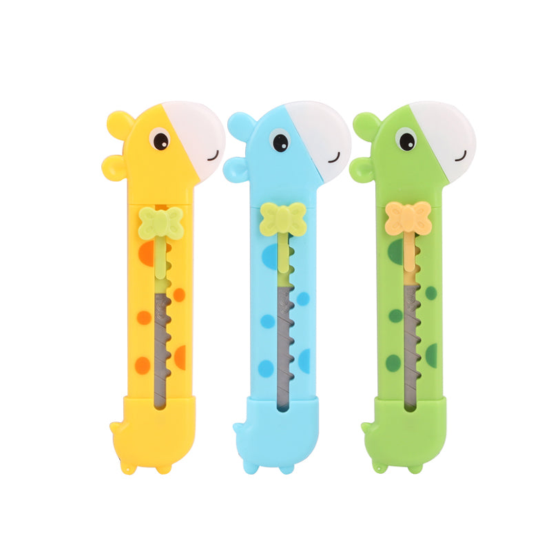 Giraffe Utility Paper Cutting Knife-Washi Whale