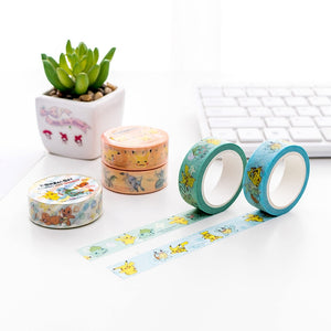 Pokemon Washi Tape-Washi Whale