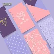 Load image into Gallery viewer, Purple Diamonds Index Dividers-Washi Whale