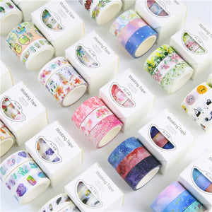 3 Roll Washi Tape Sets-Washi Whale