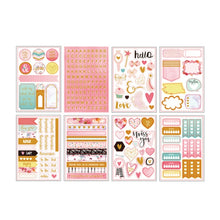 Load image into Gallery viewer, Lovedoki Gold Foil Weekly Planner Stickers-Washi Whale