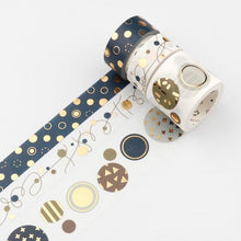 Load image into Gallery viewer, Gold Foil 3 Set Washi Tape-Washi Whale