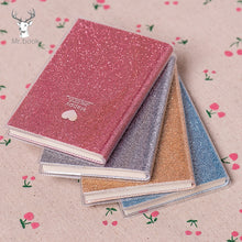 Load image into Gallery viewer, Sparkly Mini Notebooks-Washi Whale