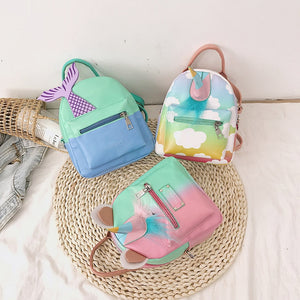 Unicorn & Mermaid Mini Backpack-Washi Whale