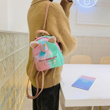 Load image into Gallery viewer, Unicorn & Mermaid Mini Backpack-Washi Whale