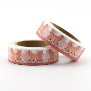 Cute As A Corgi Washi Tape