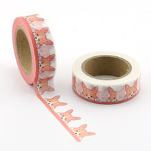 Load image into Gallery viewer, Cute As A Corgi Washi Tape