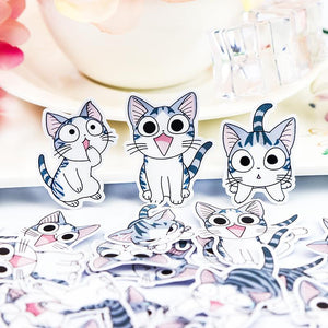 Cute Kitty Stickers (32 pieces)-Washi Whale