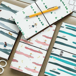 Mini Travel Planner-Washi Whale