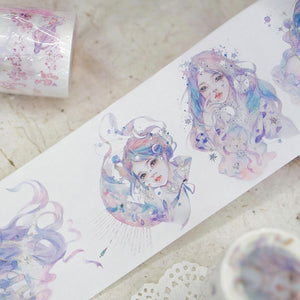 Galaxy Goddess Washi Tape-Washi Whale