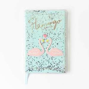 Sparkly Sequin Notebook-Washi Whale