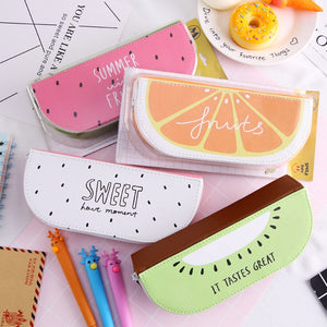 Sweet Summer Fruit Pencil Case-Washi Whale