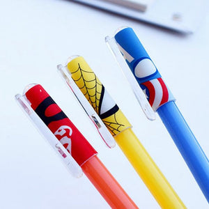 Comic Book Hero Erasable Pens