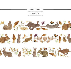 Lovely Rabbit Washi Tape