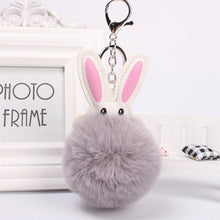 Load image into Gallery viewer, Plush Rabbit Charm