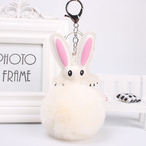 Plush Rabbit Charm