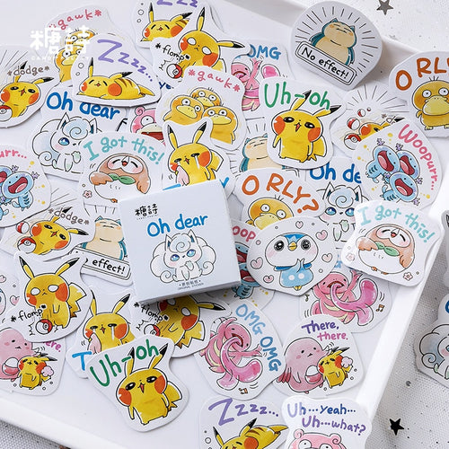 Pokemon Loose Stickers (45Pcs)