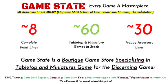 Game State Store Singapore Customers should play our games just for a little flutter and it must not adversely affect their finances or lifestyle. game state store singapore