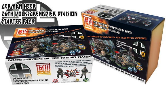 German 26th Volksgrenadier Division Starter Set - Game State Store
