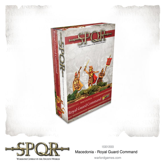 Macedonian Royal Guard Command - Game State Store