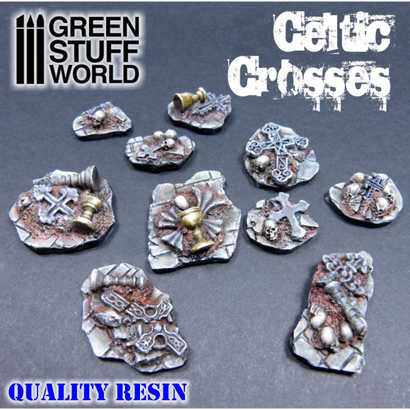 GSW - Celtic Crosses Resin Set