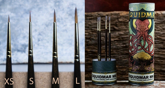 Squidmar Base Brush Set