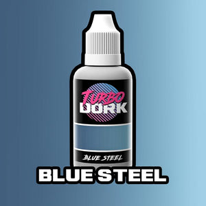 Turbo Dork Blue Steel Metallic Acrylic Paint - 20ml Bottle - Game State Store