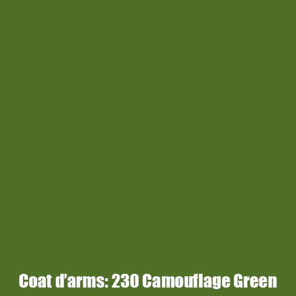 230 - Camouflage Green Coat D'Arms