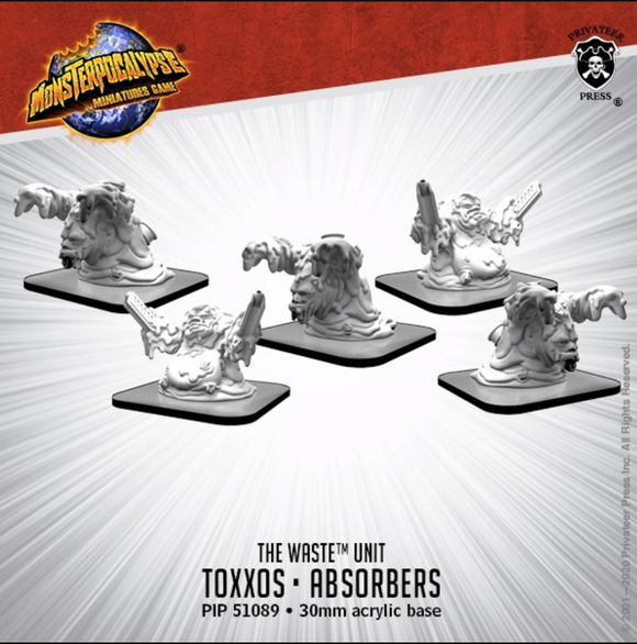 Toxxos and Absorbers – Monsterpocalypse Waste Unit (metal/resin)