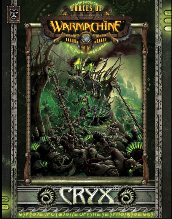 Forces of Warmachine: Cryx Command (soft cover)