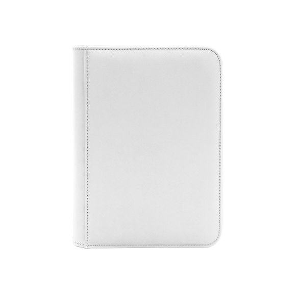 Dex Zipper Binder 4 - White