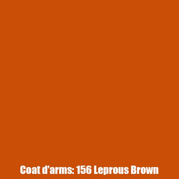 156 - Leprous Brown Coat D'Arms