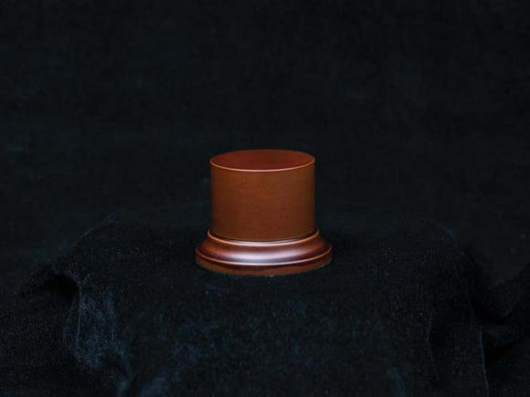 Wooden Base Brown (oval), 52x50mm