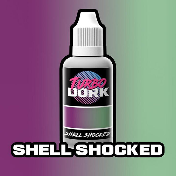 Turbo Dork Shell Shocked Colorshift Acrylic Paint - 20ml Bottle - Game State Store