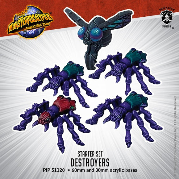 Monsterpocalypse Dire Ants and Spy Fly Savage Swarm Unit