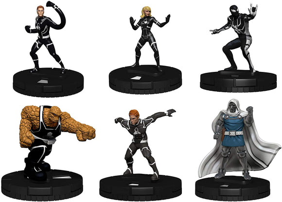 Marvel HeroClix Fantastic Four Future Foundation Fast Forces