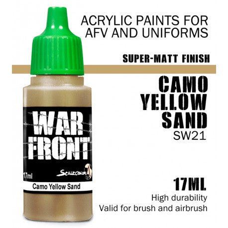SW SS CAMO YELLOW SAND 17 mL - Game State Store