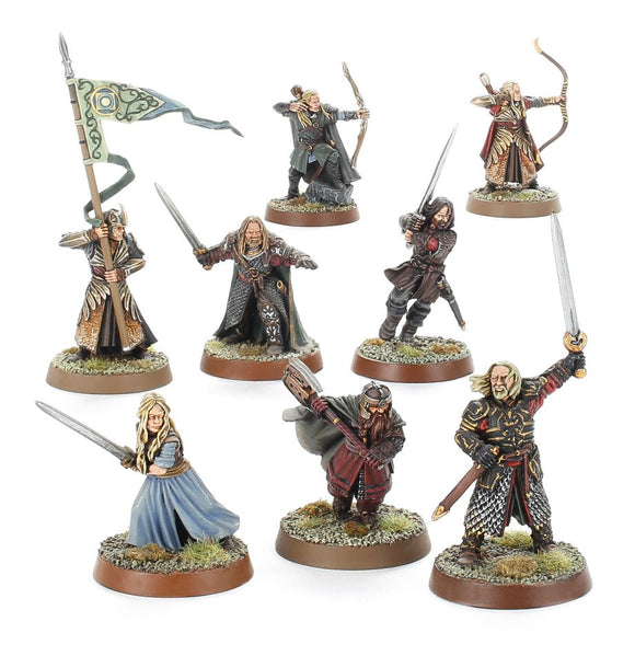 Web Order LOTR Hobbit Heroes of Helms Deep