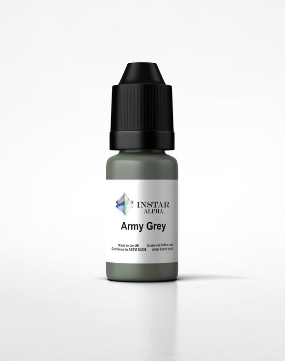 Instar Paint 20ml Alpha Army Grey - Game State Store