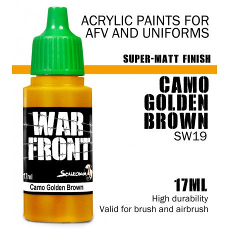 SW SS CAMO GOLDEN BROWN 17 mL - Game State Store