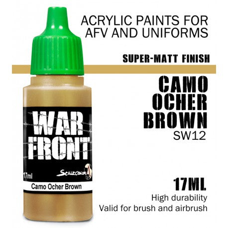 SW SS CAMO OCHER BROWN 17 mL - Game State Store