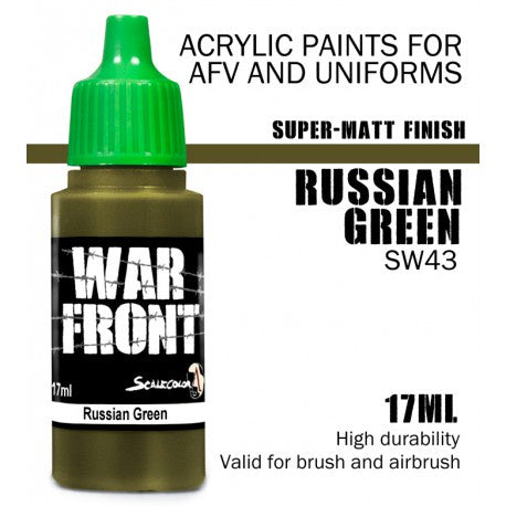 SW RUSSIAN GREEN 17 mL - Game State Store