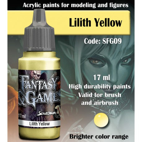 SFG LILITH YELLOW 17 mL - Game State Store