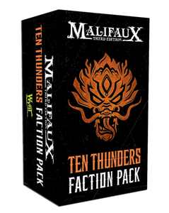 Ten Thunders Faction Pack - M3e Malifaux 3rd Edition - Game State Store