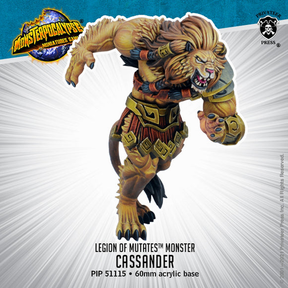 Monsterpocalypse Cassander Legion of Mutates Monster (Resin)