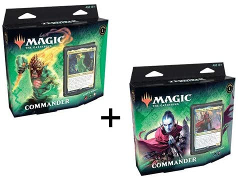 MTG Zendikar Rising Commander 1 Set of 2