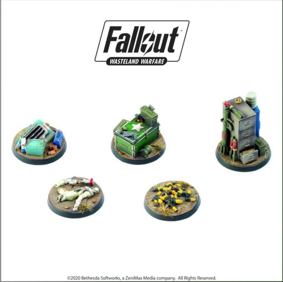 Fallout: Wasteland Warfare - Terrain Expansion: Objective Markers 2 - Game State Store