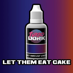 Turbo Dork Let Them Eat Cake Colorshift Acrylic Paint - 20ml Bottle - Game State Store
