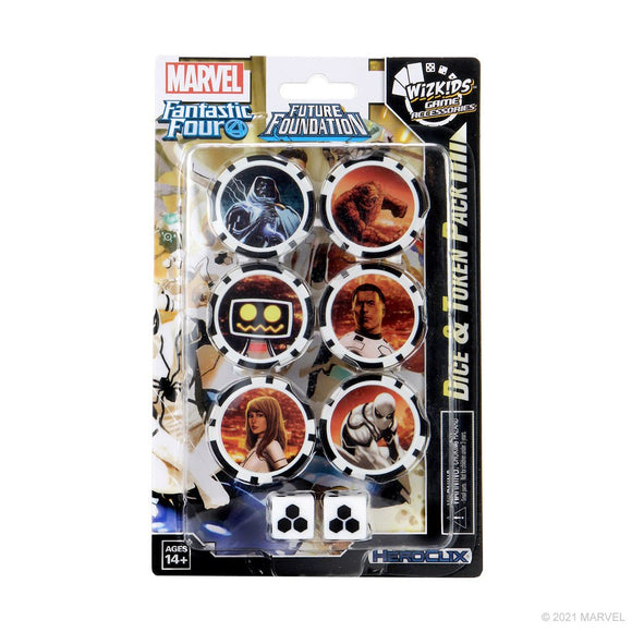 Marvel HeroClix Fantastic Four Future Foundation Dice and Token Pack