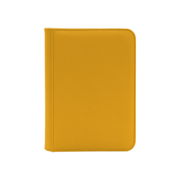 Dex Zipper Binder 4 - Yellow